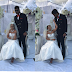 Actress Rosaline Meurer Weds In Style, With #BBNaija's Gifty & Thin Tall Tony Present