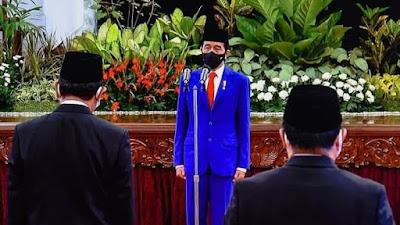 Presiden Saksikan Pengucapan Sumpah Anggota Komisi Yudisial Masa Jabatan 2020-2025