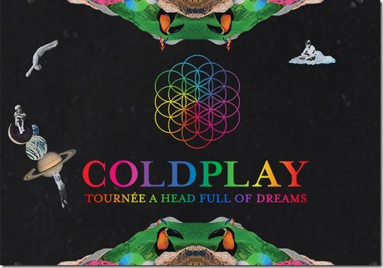 Coldplay Tour ve las fechas