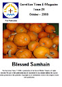 Issue 26 October 2008 vol 1 Blessed Samhain