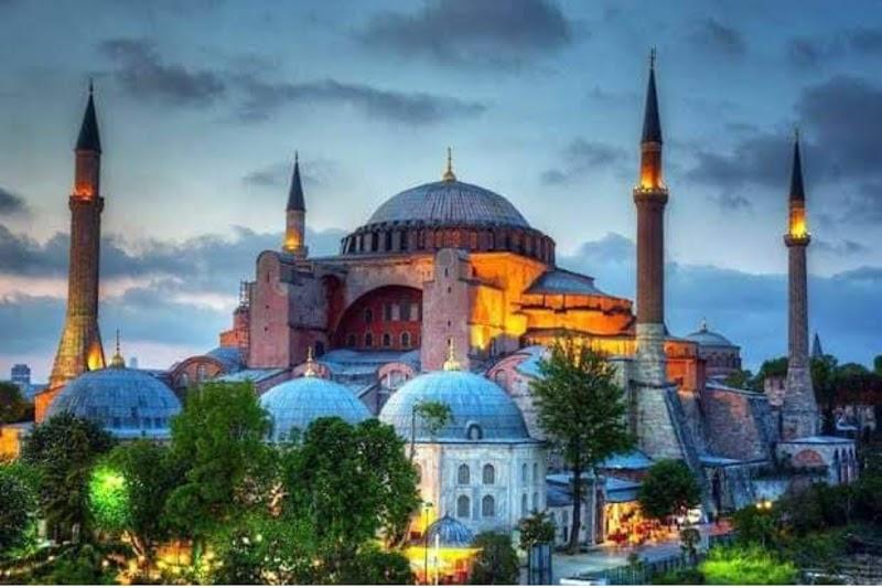 Hagia Sophia, Masjid yang Kembali