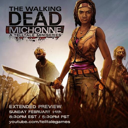 Walking Dead Michonne A TellTale MiniSeries SCREENS/TRAILER+RELEASE DATES