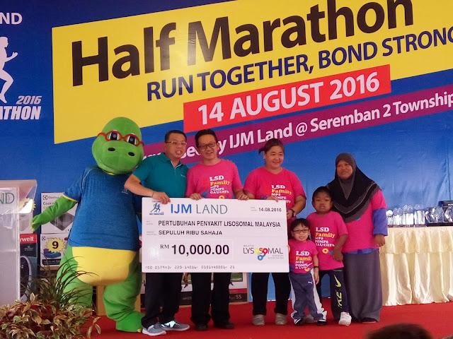 6,000 Malaysians take part in IJM Land Half Marathon 2016