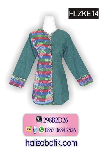 grosir batik pekalongan, Baju Batik Modern, Grosir Batik, Batik Modern, HLZKE14