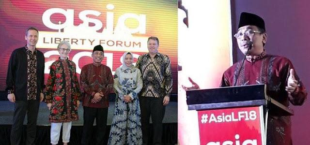 Asia Liberty Forum 2018, Oriental Mandarin Hotel, Jakarta, 11 Februari 2018