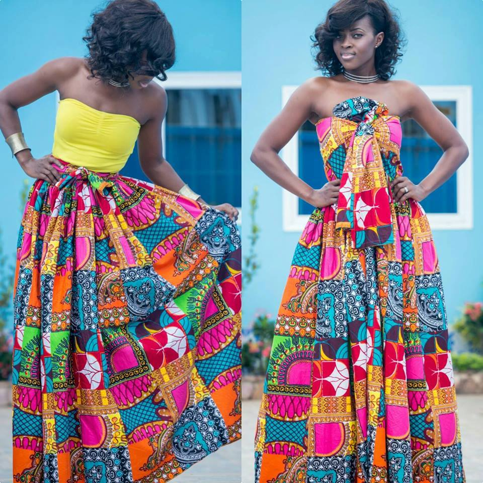 African Dresses Styles To Have A Modern Pretty Look 1