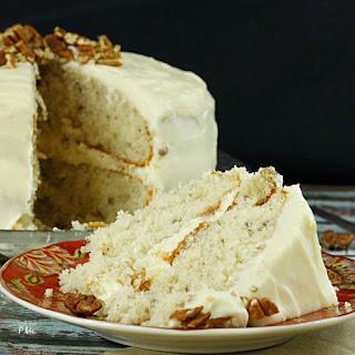 Italian Cream Cake Recipe with Buttercream Frosting.