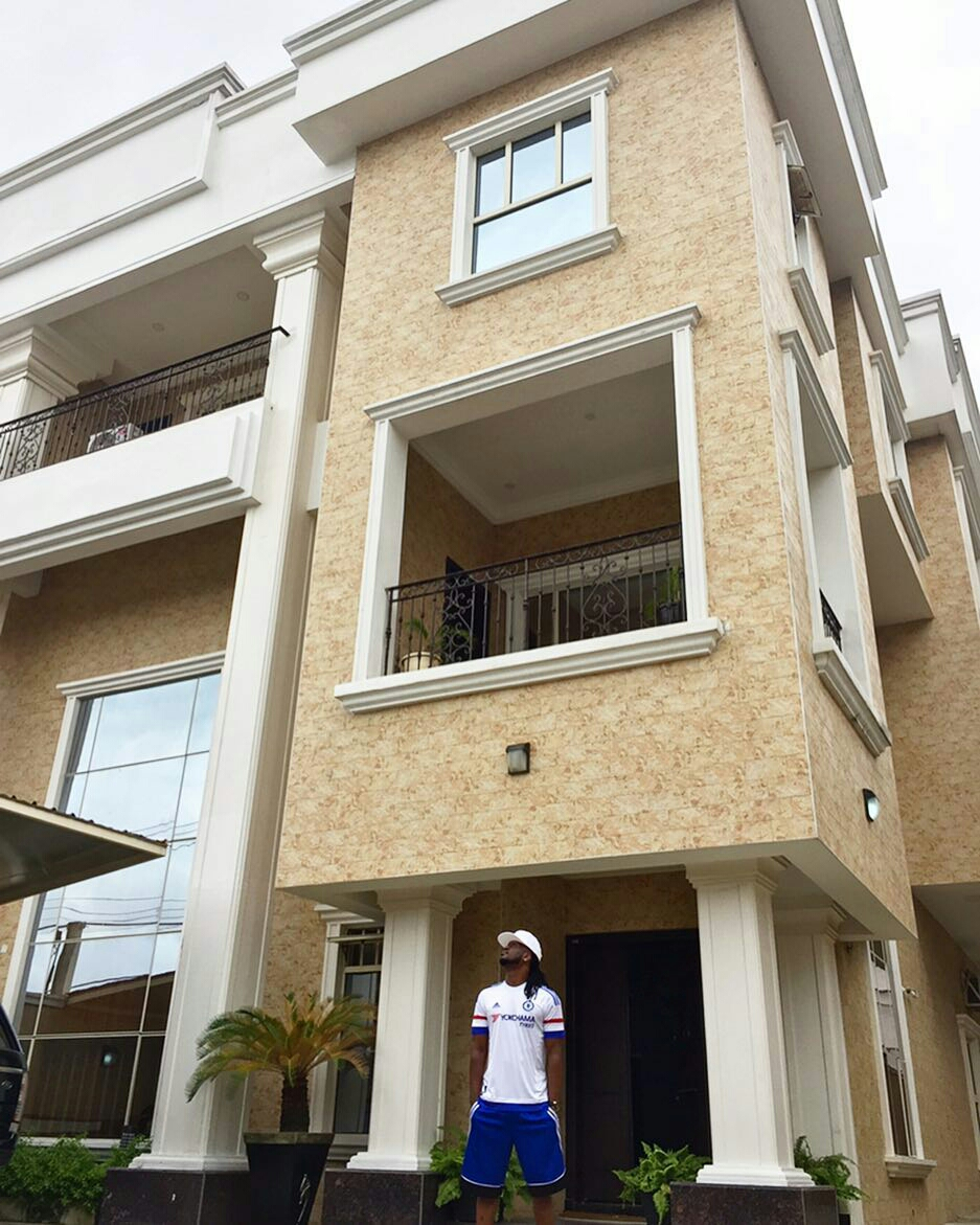 Paul Okoye Shows Off His Beautiful Mansion