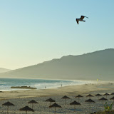 Tarifa beach in Andalucia, southern Spain.