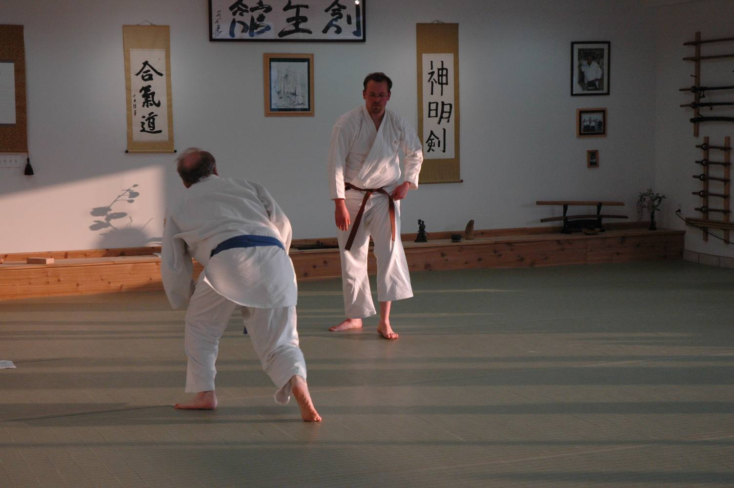 Nick's 1st kyu test at Soseikan Dojo