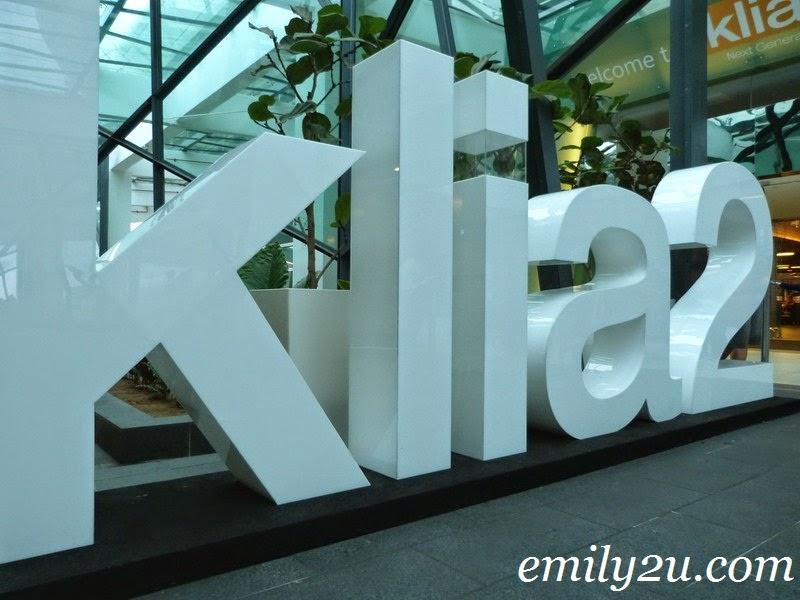 how to go from klia1 to klia2