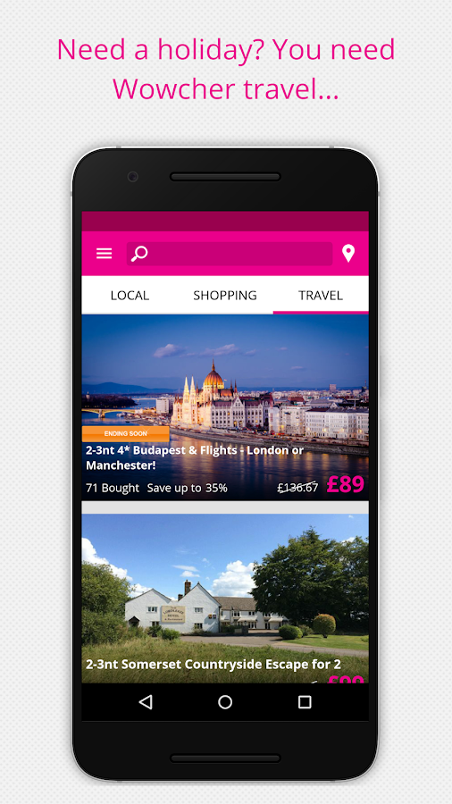 Wowcher – Deals & Vouchers- screenshot