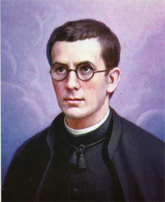 Retrato de José María Ruiz Cano, que le representa con h´bito, moreno, con gafas