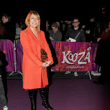 WWW.ENTSIMAGES.COM - Fay Ripley   arriving  at  Cirque Du Soleil: Kooza VIP Royal Albert Hall London January 8th 2013                                                       Photo Mobis Photos/OIC 0203 174 1069