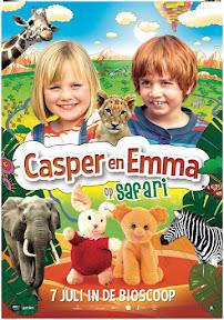 Casper en Emma op Safari