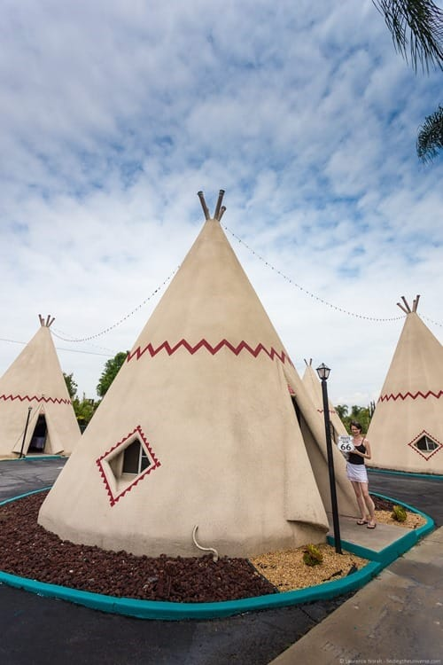 Wigwam Motel Room Route 66 California
