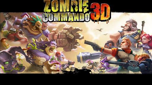 Zombie Commando 3D APK OBB DATA