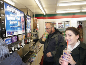 nothing says Christmas in Denver like a slurpee, right?