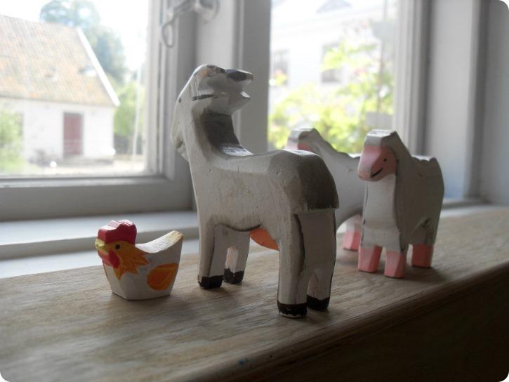 Legetøj på Frederiksdal