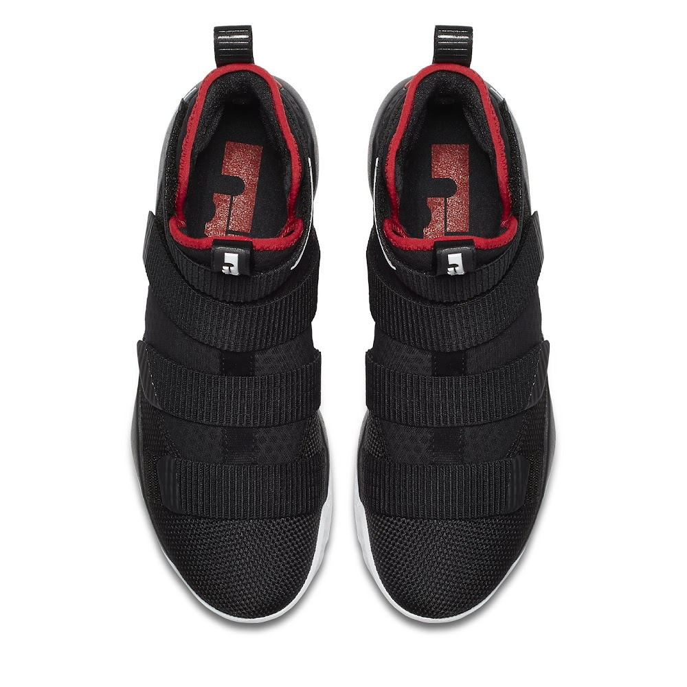 e2b285b37d9 ... Available Now Nike LeBron Soldier 11 Black and Red