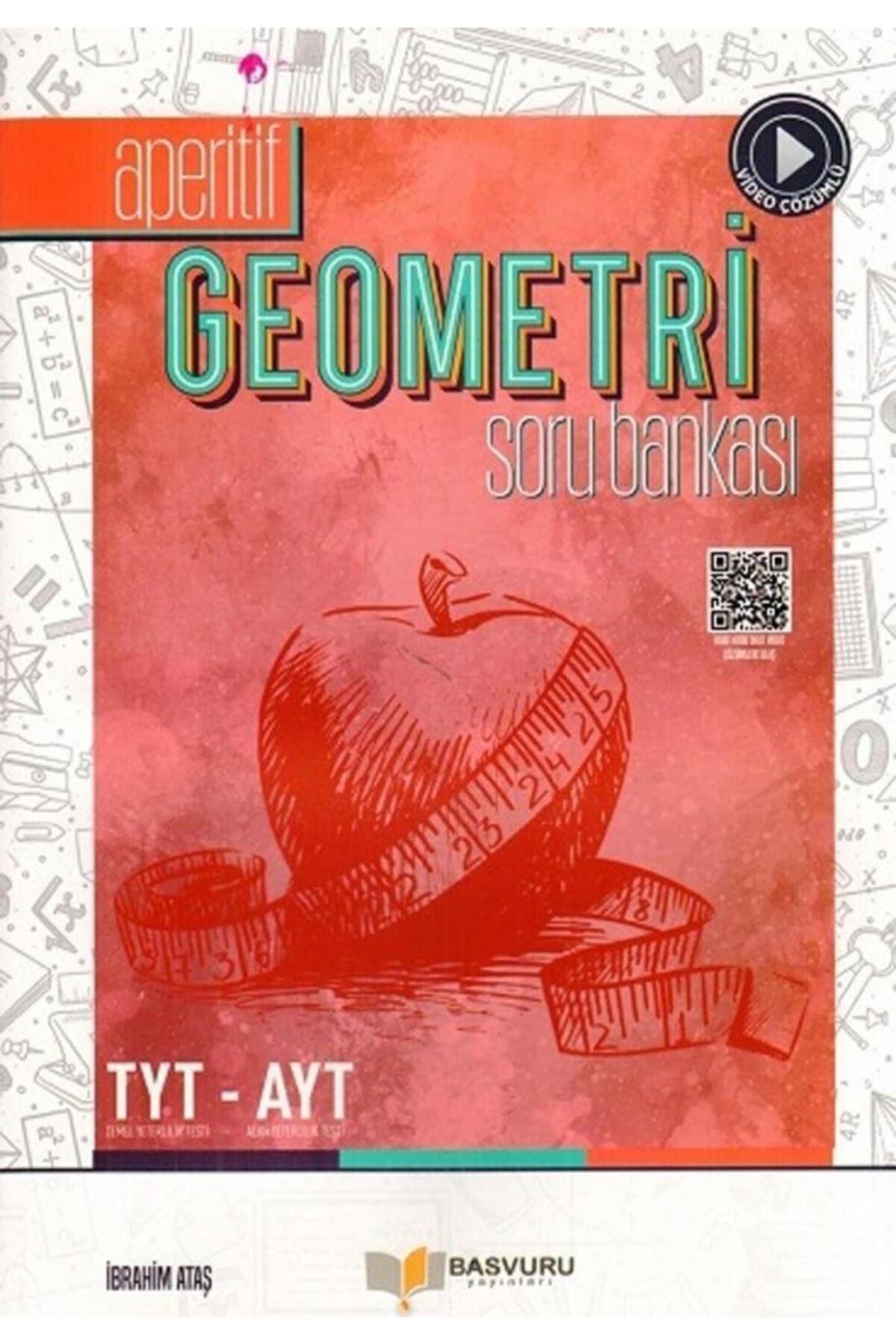 Başvuru Yayınları - TYT AYT Geometri - Aperetif Soru Bankası