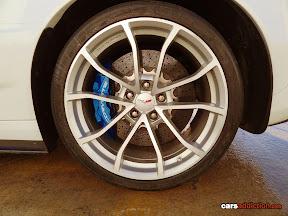 Corvette ZR1 massive brakes