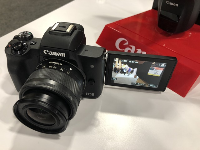 Canon M50 at B&H