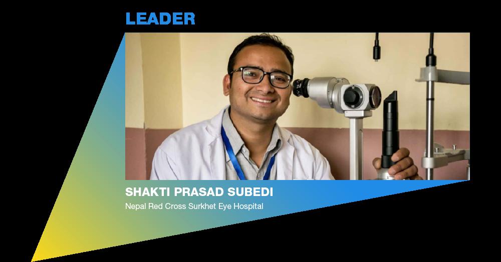 Eye Health Hero: Shakti Prasad Subedi