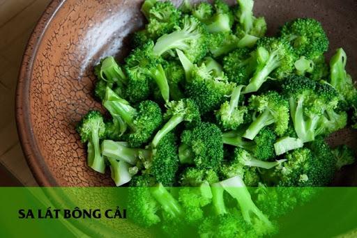 Salat bông cải