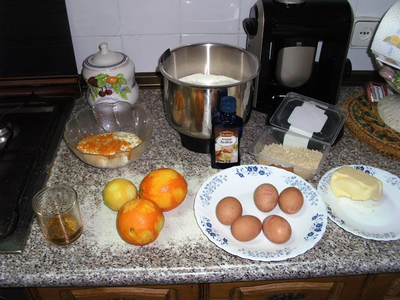 Ingredientes roscón de reyes