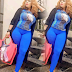 Delete This Pic - Fans Slam Actress Biodun Okeowo For Flaunting Her Camel Toe