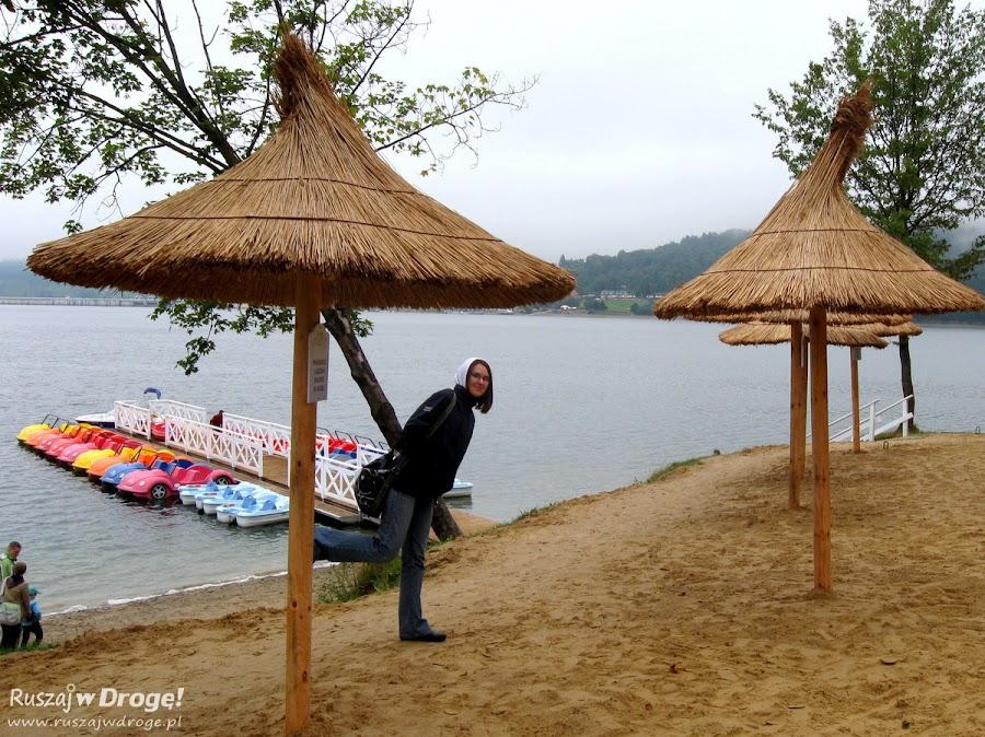 Nad bieszczadzkim morzem - Jezioro Solińskie