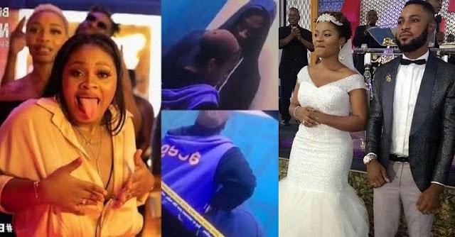 #BBNaija: Tega Mother inlaw finally React to Trending Video of Saga $ucking her B00bs [Video]