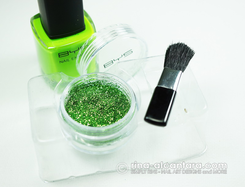 BYS Glitter for Nails Kit