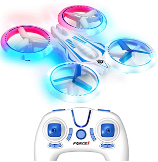 Kid friendly LED Mini drone with lights