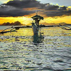 puerto prinsesa by Catalino Adolfo   Jr. - Transportation Boats ( boats, transportation )