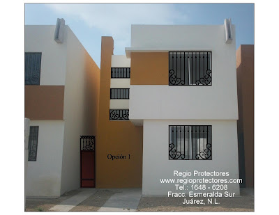 Protectores para ventanas y puertas, Fracc.Esmeralda Sur, Foto Montaje ...