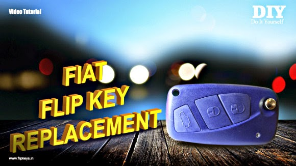 Fiat Punto Line Flip Key Replacement Video