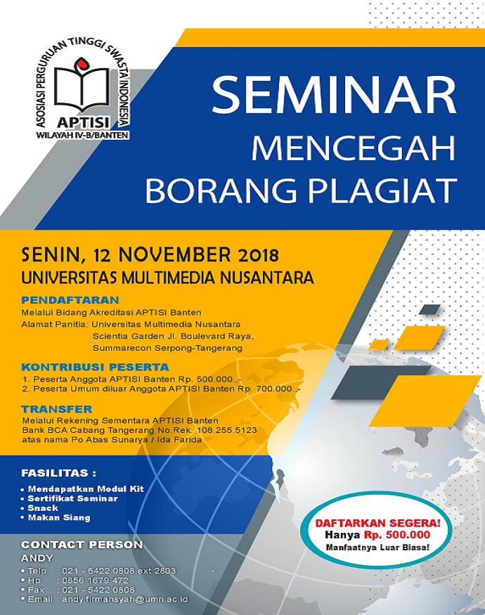 """Seminar """"Mencegah Borang Plagiat"""""""