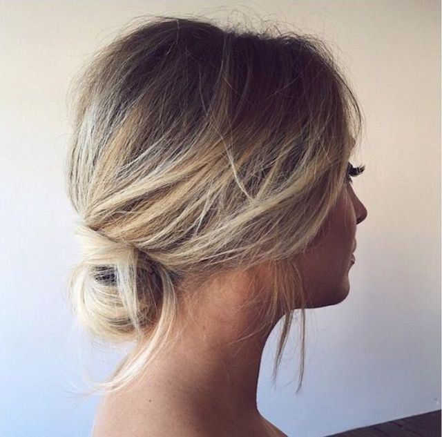 Latest Hair Style 2018 Attend Wedding Hair Tied Back: Wedding Hairstyle 2018 For Women's