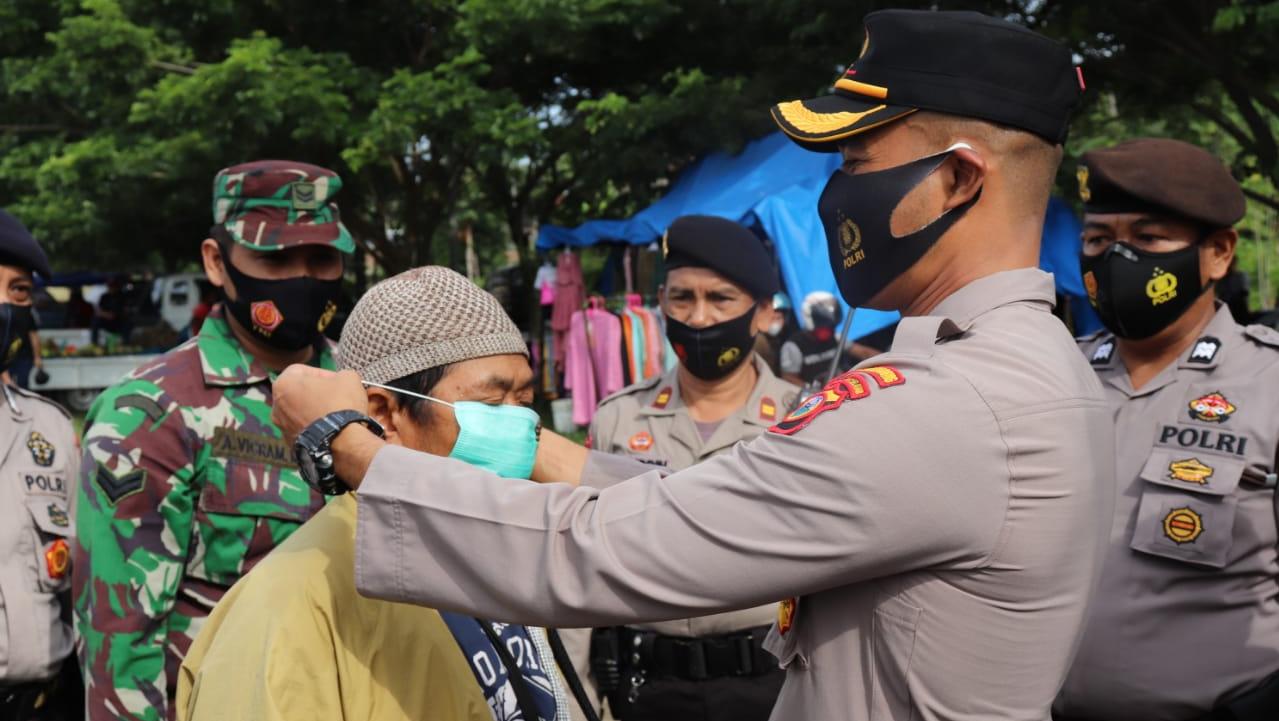 Kapolres Soppeng Intensif Tingkatkan Disiplin Masyarakat Terhadap Protokol Kesehatan