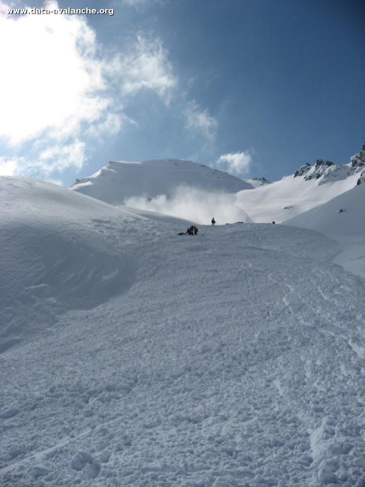 Avalanche Queyras, secteur Mont Viso, Face nord-ouest de la Pointe Joanne - Photo 1