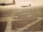 Foto van Claude Hall, Operatie Chowhound, Mei 1945.