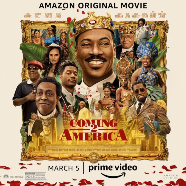 """Hubtainment - Watch The Official Trailer for Eddie Murphy's """"Coming To America 2"""""""