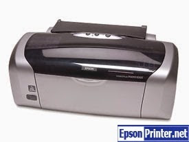 Reset Epson R230 lazer printer with software