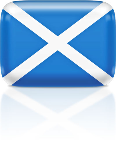 Scots flag clipart rectangular