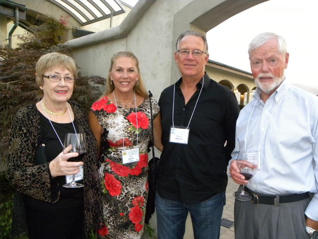 Judy Keplinger, Jan and Bruce Smith, Dave Warren
