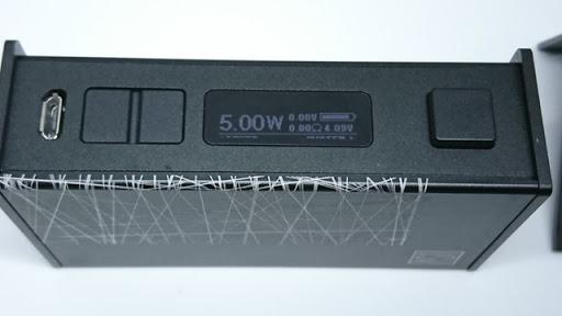 DSC 7072 thumb%255B2%255D - 【MOD】「USV-L 75w Box Mod」レビュー。VO75チップ by Vo Tech 搭載MOD初購入!!アルミボディで軽量、液晶ステルス&スライドボックスがアメリカンCOOL!!【オフィスエッジ】