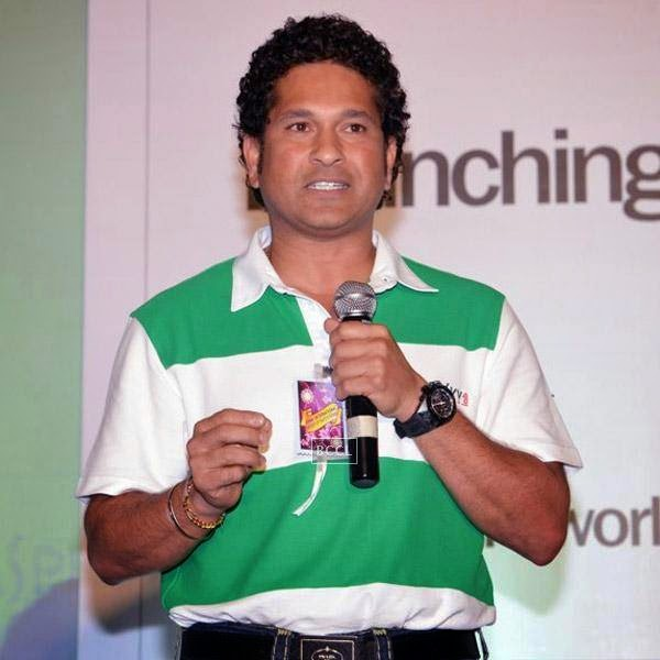 Sachin Tendulkar speaks during Kaspersky Kids awareness programme, held at Ryan International School, on July 23, 2014. (Pic: Viral Bhayani)