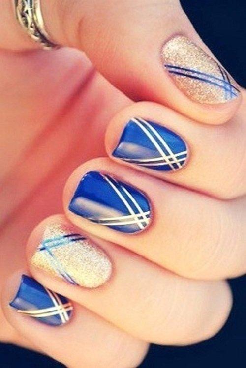 Professional Nails Summer Blue Design